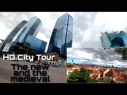Explore Tallinn Estonia in 2020 HD 🎞️ City Tour Architecture Streets Medieval Old Town #visitestonia