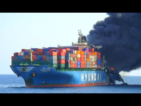 Top 10 Biggest Container Ships Crash & Epic Collision