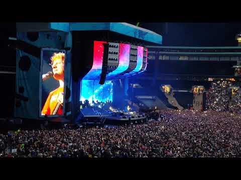 Ed Sheeran - Thinking Out Loud (Wembley 17.06.2018)