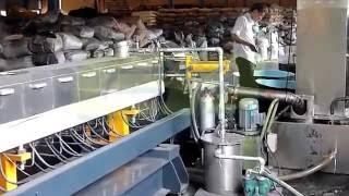 Экструдер STR-75В с системой водокольцевой резки(Компания