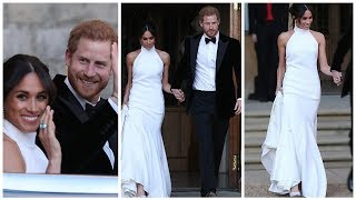 Evening Reception of Prince Harry & Meghan Markle's Royal Wedding