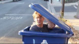 One of Cherdleys's most viewed videos: Getting Dumped in a Garbage Truck