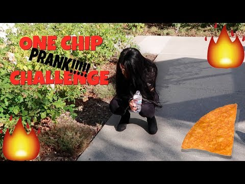 EPIC ONE CHIP CHALLENGE PRANK!!!!! She Cries