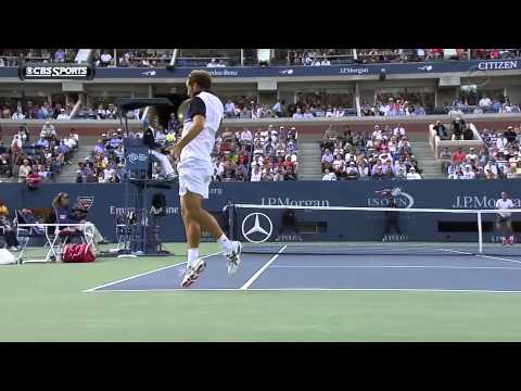 Gasquet Greatest Backhands 6