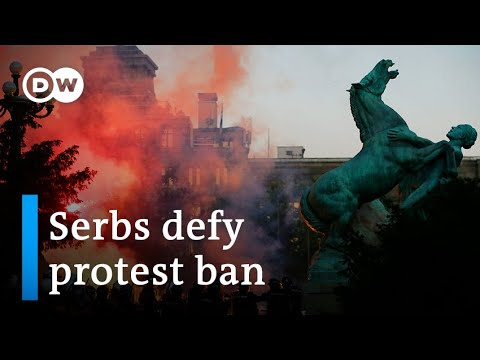Serbia coronavirus protests: What are they really about? | DW News