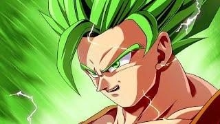super saiyan green