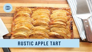 Rustic Apple Tart (Puff Pastry)