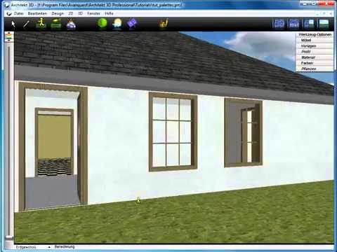 Produktshow architekt 3d von avanquest youtube for Architecte 3d avanquest