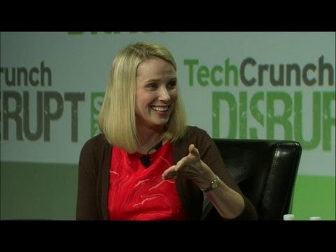 Marissa Mayer's Ingredients For Success | Disrupt SF 2013