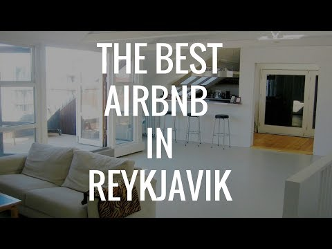 The best airbnb in Reykjavik Iceland