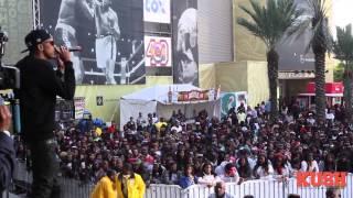 august alsina bayou classic fan festival q93 2013 part 2