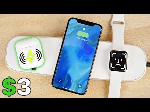 $3 AirPods Wireless Charging Mod & AirPower Alternative!