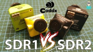 Caddx SDR2 VS. SDR1 FPV Cameras Comparison