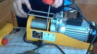 Электрический тельфер ЭТФ-800 на стройке будет краном(Электрический тельфер ЭТФ-800 думаю будет не заменимым помощником в строительстве второго этажа, вся надежд..., 2014-02-19T18:33:12.000Z)