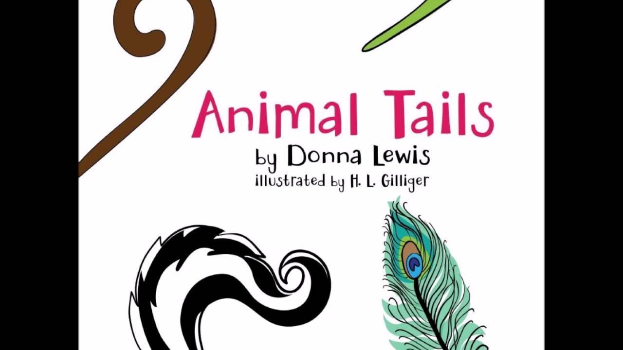 children s book trailer animal tails by donna lewis h l