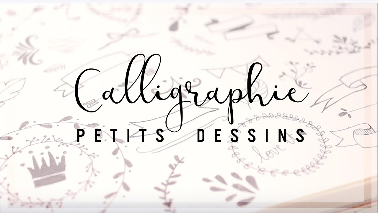 Bullet Journal Calligraphie Petits Dessins Pour Embellir Youtube
