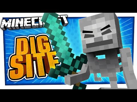 ROBBED BY A SKELETON | Minecraft Dig Site #3