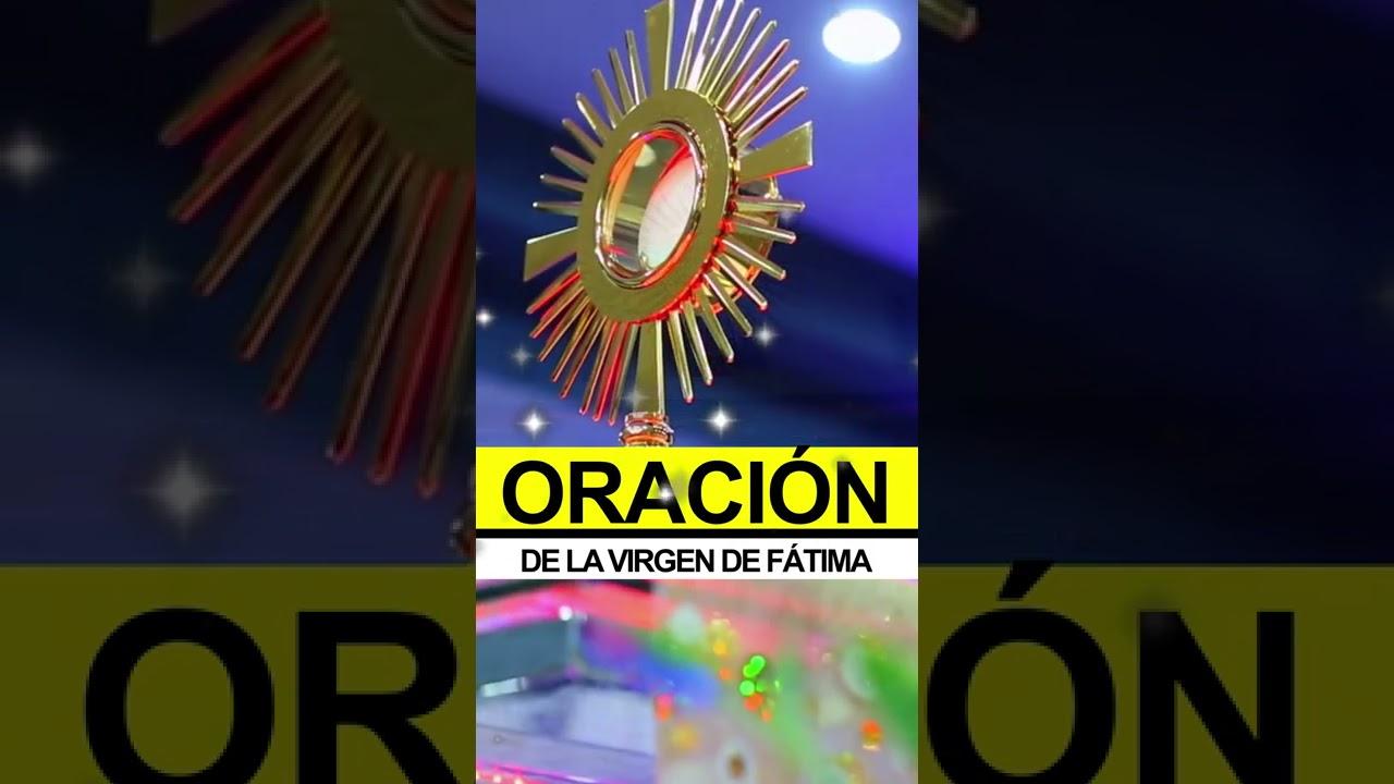 Oración de la Virgen de Fátima para el Santo Rosario