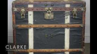 Clarke Auction Post Report | Louis Vuitton Steamer Trunk | Louis Vuitton | Antique