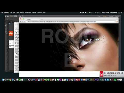 Demystifying Adobe Muse | Exporting Website As HTML | 5 Minute Series | Adobe Muse CC | Muse For You