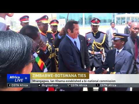 Zimbabwe, Botswana leaders meet in Harare