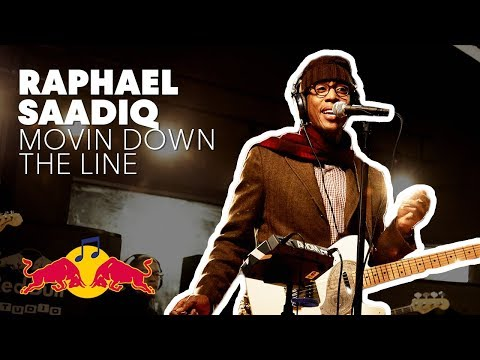 """Raphael Saadiq performs """"Movin Down The Line"""" LIVE at Red Bull Studio Sessions"""