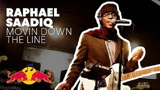 "Raphael Saadiq performs ""Movin Down The Line"" LIVE at Red Bull Studio Sessions"