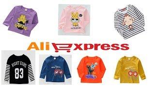 качественные детские футболки и другие товары с алиэкспресс