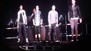 Concierto BIG TIME RUSH en Arena Ciudad de México 2014 Parte 1/8