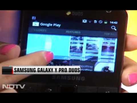 Samsung Galaxy Y Pro Duos--- Review