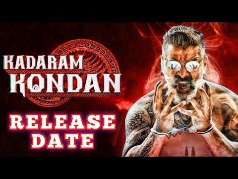 Chiyaan Vikram's Kadaram Kondan Official Release date Revealed   Chiyaan Vikram   Kamal Hassan
