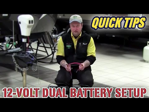 12 Volt Dual Battery Setup Pete S Rv Quick Tips Cc Youtube