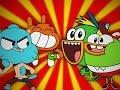 Gumball & Darwin vs SwaySway & Buhdeuce. Epic Rap Battles of Cartoons Season 3.