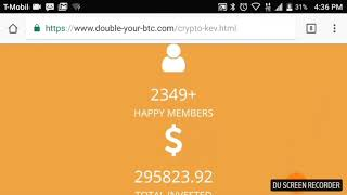 $60 per Day in Laser Online Equals 1 BTC Pack in USI Tech! - New Program Double-Your-BTC in 7 Days!!