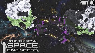 Space Engineers: Online Public Survival Part 40