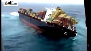 Как погибают пароходы