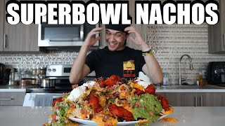 Ultimate Superbowl Nachos Challenge (10,000+ Cals)