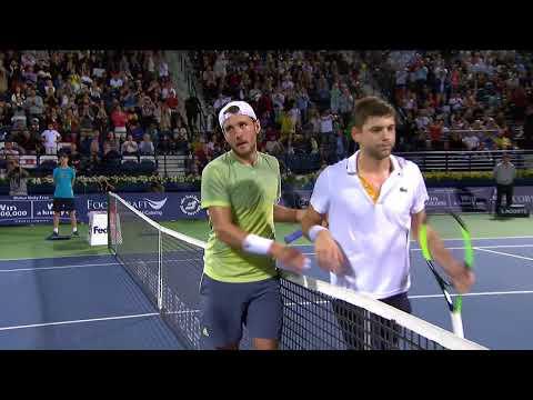 SF Highlights: Pouille, Bautista Agut in Final - Dubai Tennis 2018