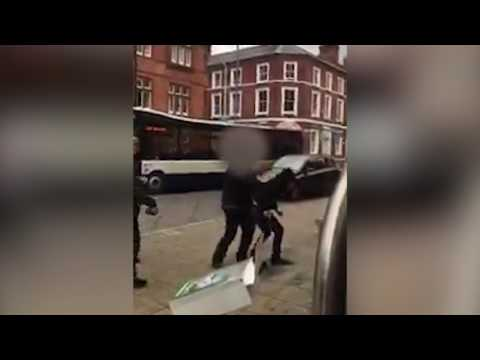 Norwich Bus driver has fight in City Centre