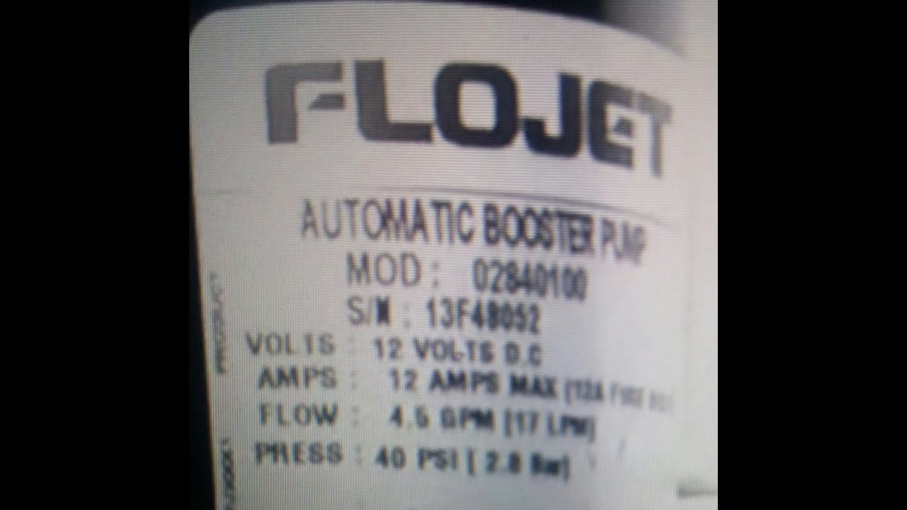 Flojet Wiring Diagram Archive Of Automotive Airmar P66 How To Pump Repair Switch Replacement Youtube Rh Com
