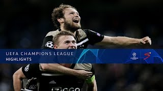 UEFA Champions League | Real Madrid vs Ajax | Highlights