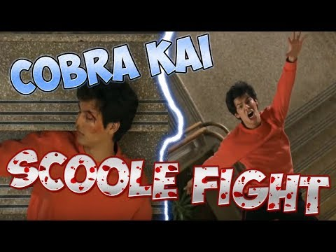 COBRA KAI : SCHOOL FIGHT I Season 3 (Finish Part)