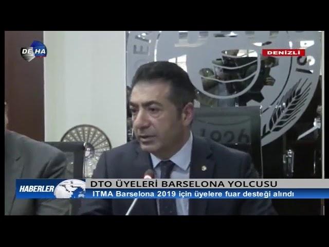 Deha TV-DTO üyeleri Barselona yolcusu 11.06.2019