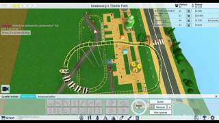 Roblox achtbaan land #1