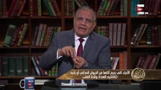 سعد الدين الهلالي: أكل