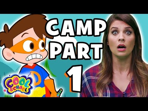 DISAPPEARING CAMP! Part 1😱⛺️Ms. Boosky & Drew Pendous Save Camp Cool School