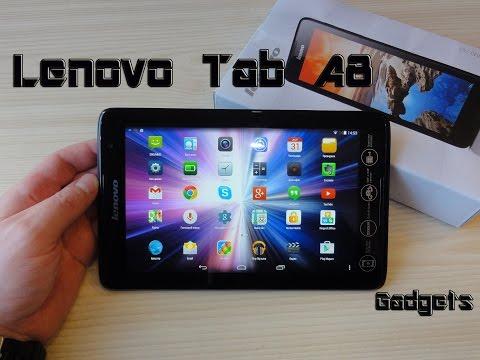 Lenovo Tab A8 A5500 Обзор+(тест игр)