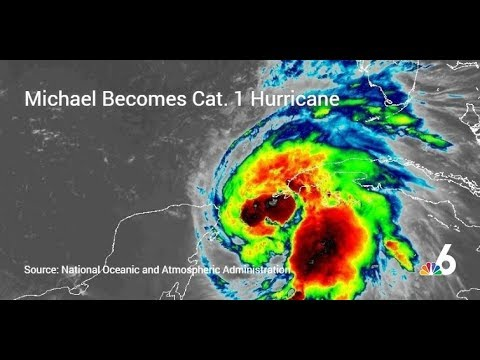 Michael Becomes Cat. 1 Hurricane, Heads Toward Florida Panhandle | NBC 6
