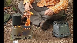 Titanium wood stove from Lixada + modifications