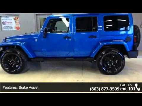 2014 Jeep Wrangler Unlimited Altitude   Lake Wales Chrysl.